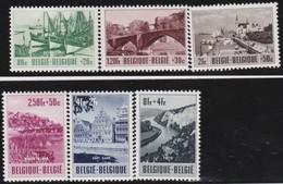 Belgie    .    OBP   .      918/923        .     **   .      Postfris      .  / .   Neuf SANS Charniere - Belgique