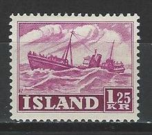 Island Mi 276 * MH - 1944-... Republique