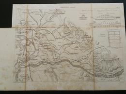 ANNALES PONTS Et CHAUSSEES (Dep 84) - Irrigations. (Vaucluse) - Gravé Par Dulos - (CLA73) - Cartes Marines