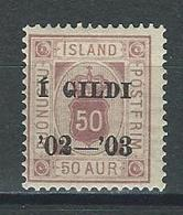 Island Mi D16 * MH - Dienstpost
