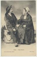 AK  Paar Cleder Deux Fiances 1909 - Couples
