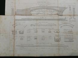ANNALES PONTS Et CHAUSSEES (Dep 89 ) - Distributions D'eau ( Avallon) - Gravé Par Dulos - (CLA75) - Cartes Marines