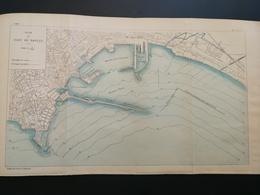 ANNALES PONTS Et CHAUSSEES (Italie) - Plan Du Port De Naples - 1906 (CLA76) - Cartes Marines