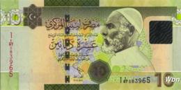 Libya 10 Dinars (P78Aa) 2011 -UNC- - Libië