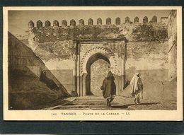 CPA - TANGER - Porte De La Casbah, Animé - Tanger
