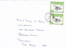 32293. Carta GIBRALTAR 1989. Field Post Office 123. Correo Militar - Gibilterra