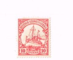 Yacht Impérial. Yvert 28.MH,Neuf Charnière. - Colonie: Afrique Sud-Occidentale