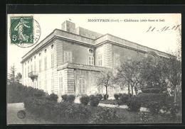 CPA Montfrin, Chateau, Cotes Ouest Et Sud - France