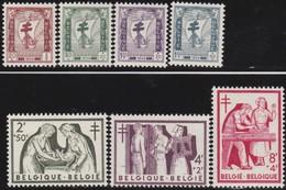 Belgie    .    OBP   .     998/1004       .     **   .      Postfris      .  / .   Neuf SANS Charniere - Belgique