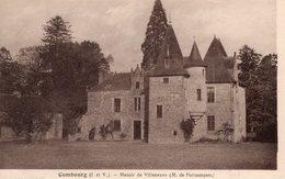 Combourg (35) - Le Manoir De Villeneuve. - Combourg