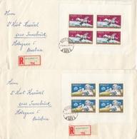 UNGARN 1970 - MiNr: 2575+2576 KB Auf Rekobrief - Briefe U. Dokumente