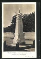 CPA Aigues-Vives, Monument Aux Morts - Aigues-Vives