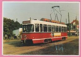 CP - TRAMWAY - MIVA - PCC 2126 Te Hoboken-Schoonselhof Van 1986. - Tram