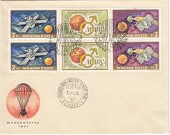 UNGARN 1972 - MiNr: 2739-2740  KB - FDC - FDC & Gedenkmarken