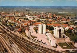 AMBERIEU-en-BUGEY - Vue Aérienne - Quartier Noblemaire - Voies Ferrées - Immeubles - HLM - Otros Municipios