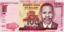 Malawi 100 Kwacha 1-1-2013 Pk 59 B Escuela De Medicina, Blantyre UNC - Malawi