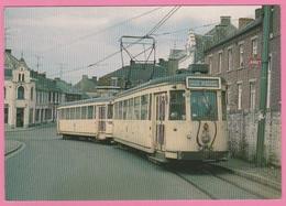 CP - TRAMWAY - MUPDoFER - Hainaut . S.N.C.V. 9052 + 9309 De 1955. - Tram