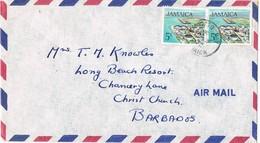 32298. Carta Aerea ANNOTTO BAY (Jamaica) 1972 To Barbados - Jamaica (1962-...)