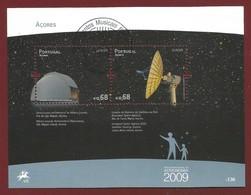 Portugal / Acores  2009  Mi.Nr. Block 41 (558/559) , EUROPA CEPT - Astronomie - Gestempelt / Used / (o) - Europa-CEPT