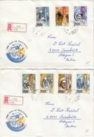 UNGARN 1982 - MiNr: 3557-3563 Komplett  Auf Rekobrief - Briefe U. Dokumente