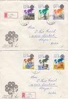 UNGARN 1983 - MiNr: 3636-3641 Komplett  Auf Rekobrief - Briefe U. Dokumente