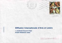 TP  N° 2392  Seul Sur Enveloppe De Chanter..... - Marcophilie (Lettres)