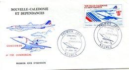 Nouvelle Calédonie - FDC Yvert PA 169 Concorde - X 930 - FDC