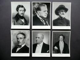 Sei Fotocartoline Mascagni Donizetti Verdi Bellini Puccini Giordano Musica Opera - Zonder Classificatie