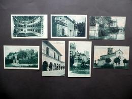 7 Cartoline Busseto Roncole S. Agata Giuseppe Verdi Casa Villa Parma Primo '900 - Parma