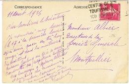 191 SEMEUSE SEULE SUR CPA - Marcophilie (Lettres)