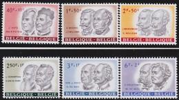 Belgie    .    OBP   .     1176/1181       .     **   .      Postfris      .  / .   Neuf SANS Charniere - Belgique