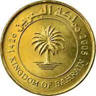 Monnaie, Bahrain, Hamed Bin Isa, 10 Fils, 2005/AH1426, TTB, Laiton, KM:28 - Bahreïn