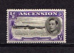 ASCENSION    1938    1/2d  Black  And  Violet    Perf 13 1/2    MH - Ascension