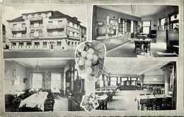 Luxemburg, WASSERBILLIG, Hotel-Restaurant Hengen, Interior (1960s) Postcard - Cartes Postales