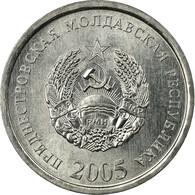 Monnaie, Transnistrie, 10 Kopeek, 2005, TTB, Aluminium, KM:51 - Moldova