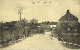 Strée -- Pont De Pierre.    ( 2 Scans ) - Modave