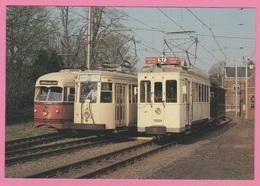 CP - TRAMWAY - Motrice électrique PCC 10409 - SE 9974 Et Train Formé De La Motrice 9924 Et Remorque 1936 à Trivières. - Tram