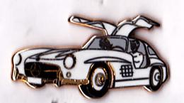 Pin's Automobile Mercedes-Benz Coupé 300 SL, Qualité Zamac, Signé Arthus Bertrand - Rare - Mercedes