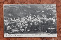BARCELONNETTE (04) - PANORAMA DE LA VILLE - Barcelonnette