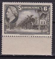 Suriname 1945 Koningin Wilhelmina 6 Cent Olijf Paramaribol NVPH 227 Postfris - Suriname ... - 1975