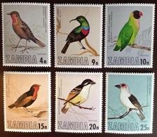 Zambia 1977 Birds MNH - Vogels