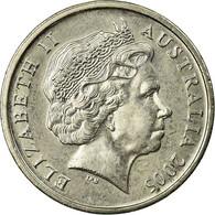 Monnaie, Australie, Elizabeth II, 5 Cents, 2005, TTB, Copper-nickel, KM:401 - Monnaie Décimale (1966-...)