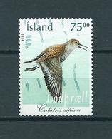 2004 Iceland Birds,oiseaux,vögel Used/gebruikt/oblitere - 1944-... Republique