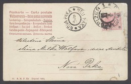 CZECHOSLOVAKIA. 1905 (7 March). Policarpolzen - Nova Paka. Fkd Card. Depart Arrival Cds On Front. - Czechoslovakia