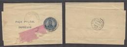 Argentina - Stationery. 1931 (Oct). BA - Germany (10 Nov). 1c Blue Stat Wraper. Arrival Cds. Scarce So. - Argentina