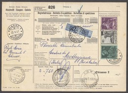 Italy - XX. 1961 (19 May). Switzerland / Chiasso - Italy / Motteggiana (26 May). Reg Multifkd Postal Package Italian Pdu - Italien