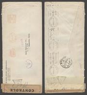 USA. 1941 (2 April). NYC - Syria (1 Dec 41). Transpacific Clipper Usage. Via India + Lebanon / Beyrouth (29 Nov) Doble C - Vereinigte Staaten