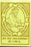 Jeu Des Philosophes De L'an II Jeu De 54 Cartes - 54 Cards