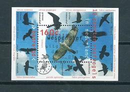 1995 Netherlands Complete M/Sheet Birds,oiseaux,vögel Used/gebruikt/oblitere - Blokken