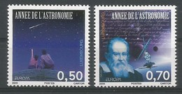 Luxembourg  2009  Mi.Nr. 1831 / 1832 , EUROPA CEPT - Astronomie - Postfrisch / MNH / (**) - 2009